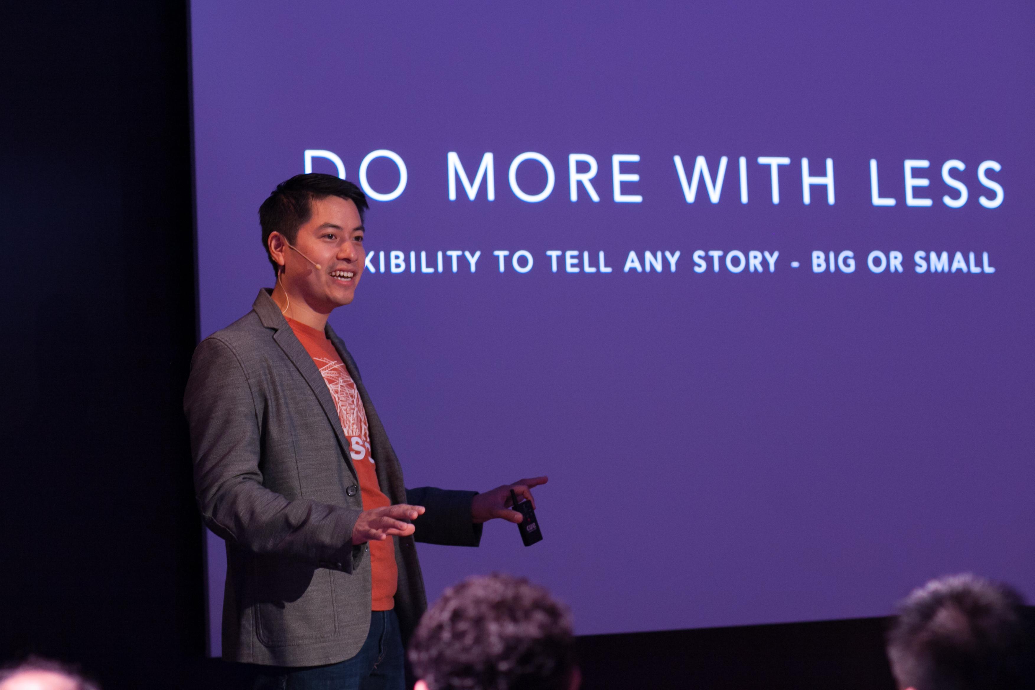 Michael Shu Speaks at NAB2015 By Megan Pangan-5